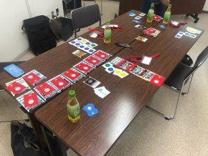 カードゲームの様子