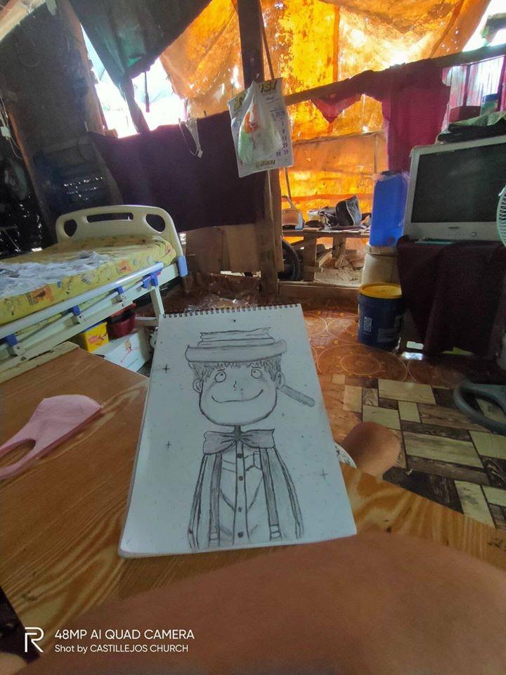 ミゲルくんが描いたルビッチ